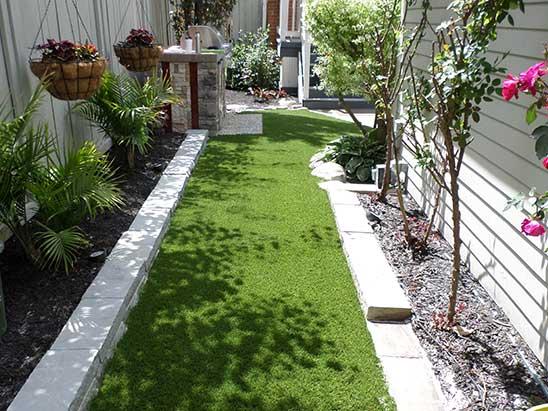 Side Path Artificial Grass