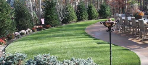 Artificial grass lawn Columbus OH