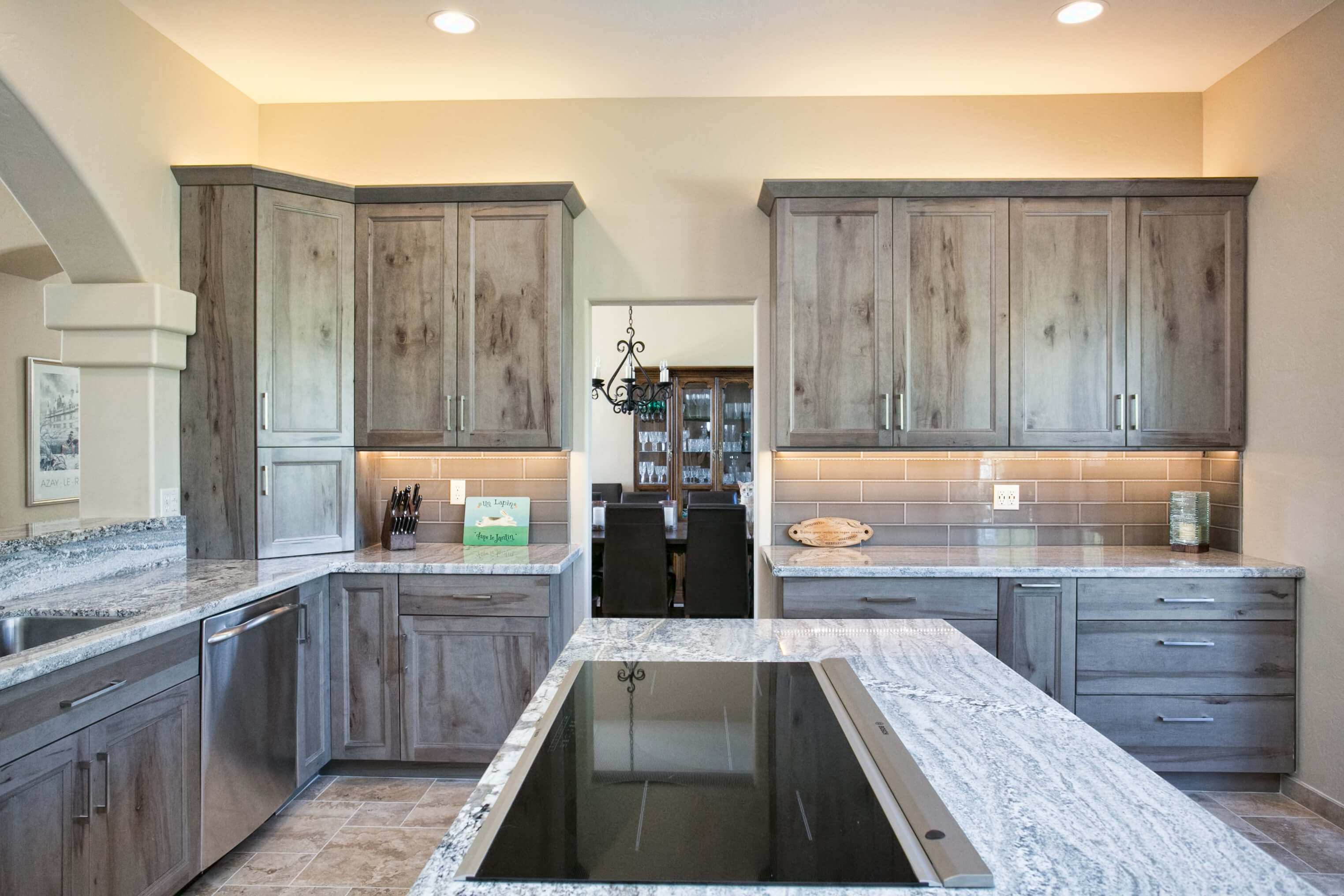 kitchen remodel tucson built in seating alenson designer laura wallace southwest