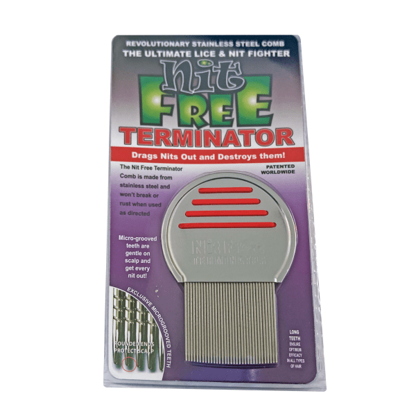 Nit Free Terminator Lice Comb In Package