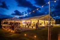 Wedding Marquee Lighting | How to Light Up Your Marquee ...