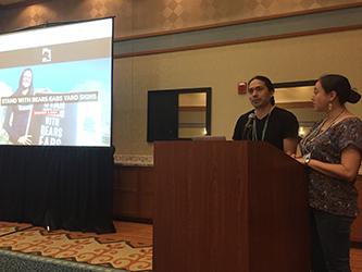 Eva Tulene-Watt awardees Angelo Baca and Teresa Montoya discuss ongoing efforts to save Bears Ears sacred land in southeastern Utah
