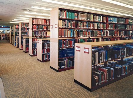 Spacesaver Bookcases  Steel Library Shelving  Adjustable