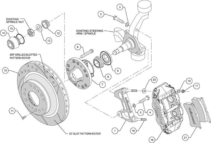 ford pinto brake diagram