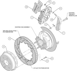 Rear disc brake diagram  24h schemes