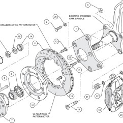 1969 John Deere 140 Wiring Diagram Kenworth W900a Wilwood Disc Brake Kit Front 65 72 Plymouth Satellite 70 Barracuda 12 Black Ebay