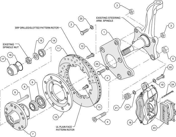 1969 john deere 140 wiring diagram ibanez rg7321 wilwood disc brake kit front 65 72 plymouth satellite 70 barracuda 12 black ebay