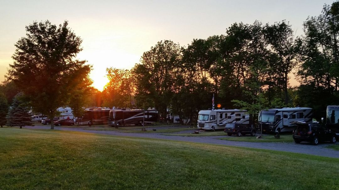 Sunsets On The Campground 2015