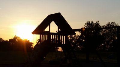 Playground Sunset Photo
