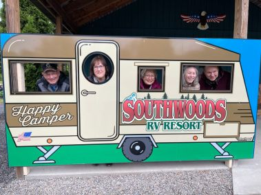 Happy Campers at Southwoods
