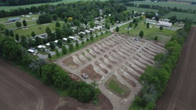 New sites just about ready for seeding!