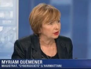 Myriam Quemener, magistrat experte en cybercriminalité