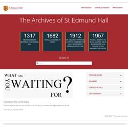 Visit the St Edmund Hall Portal