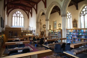 St Edmund Hall Library at Oxford University