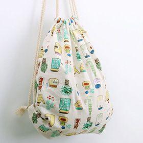 客製化棉麻後背包,棉麻布包,牛仔布包,贈品廣告棉麻包