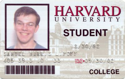 Harvard ID ID Card Template STUDENT INTERNATIONAL