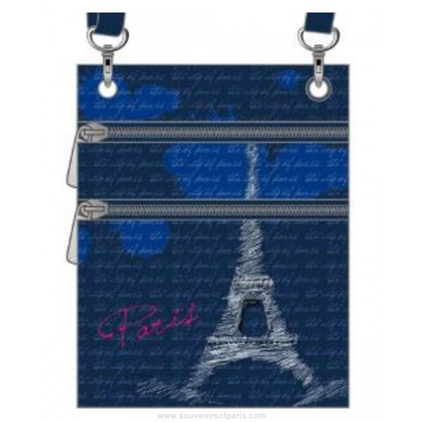 Eiffel Tower Passport Bag