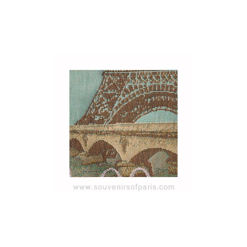 Eiffel Tower Pillow Cover Love From Paris