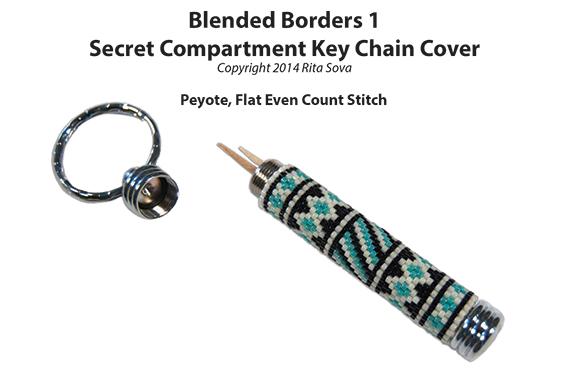 Hidden Compartment Key Chain Cover Designs, Volume 1, Sova