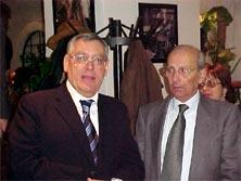 Ambasciatore Lunardo e Dirigente Scolastico Vincenzo Guarna