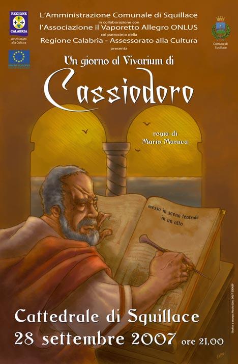 Cassiodoro - Locandina evento
