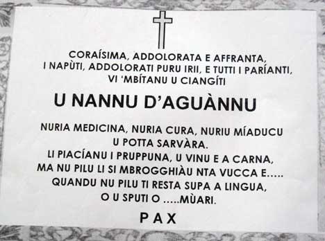 Manifesto Funebre