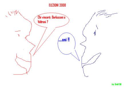 Vignetta Elezioni 2008: PREVISIONI