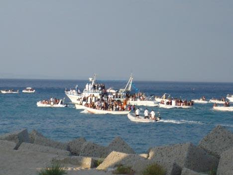 Processione della Madonna a Mare