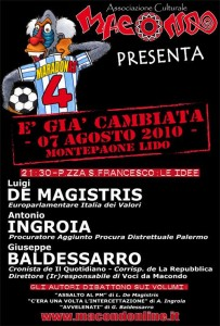Macondo presenta: È già cambiata - Edizione 2010