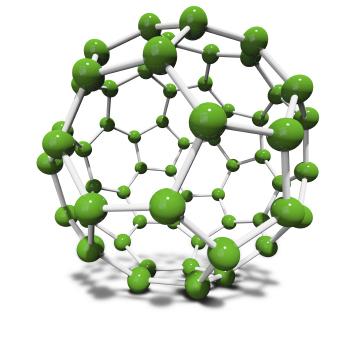 Immagine dell'allotropo di Fullerene C60