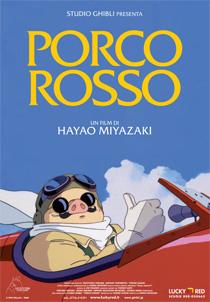 Locandina del film d'animazione Porco Rosso