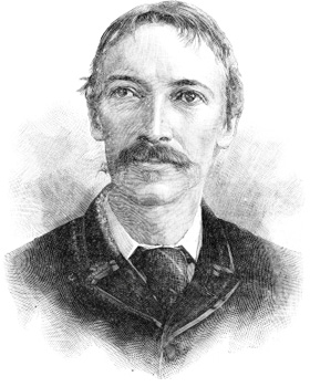 Disegno raffigurante Robert Louis Stevenson