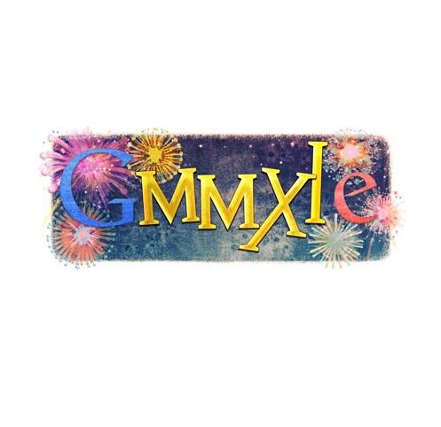 Doodle Google - Notte di san Silvestro MMXI