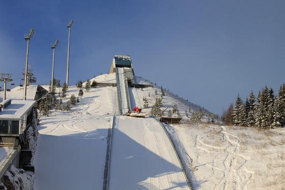 Holmenkollen - Midtstubakken - Trampolino del Salto con gli Sci