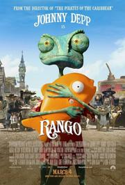 Locandina film Rango