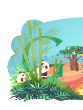 Porzione del logo di Google dedicato al Giorno della Terra