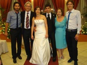 Sposi Antonella e Pasquale