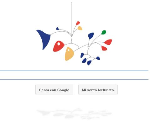 Google Doodle Alxander Calder