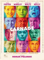 Locandina del film Carnage di Roman Polanski