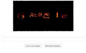 Halloween - Google Doodle