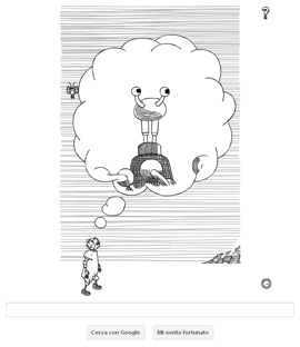 Google Doodle - Stanislaw Lem