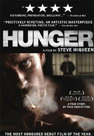 Hunger - Locandina del film di Steve McQueen anno 2008