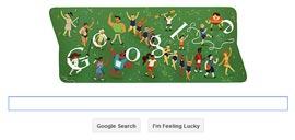 Google Doodle - Londra 2012 Cerimonia di Chiusura