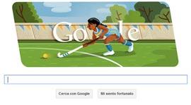 Google - Doodle - Londra 2012: Hockey su Prato
