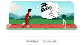 Google Doodle - Londra 2012 Atletica Leggera: Ostacoli