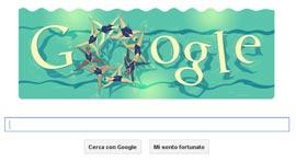 Google Doodle - Londra 2012: Nuoto Sincronizzato