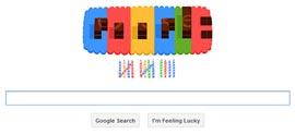 Google Doodle - Google 14° compleanno