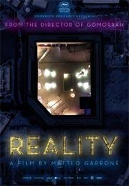 Locandina del film Reality di Matteo Garrone