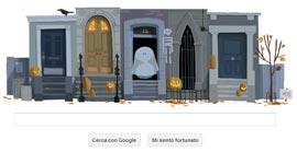 Google Doodle - Halloween 2012