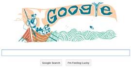 Google Doodle - Herman Melville